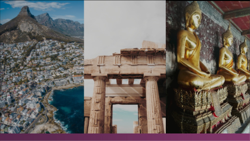 <strong>Choose your destination</strong> South Africa | Greek Isles | Thailand